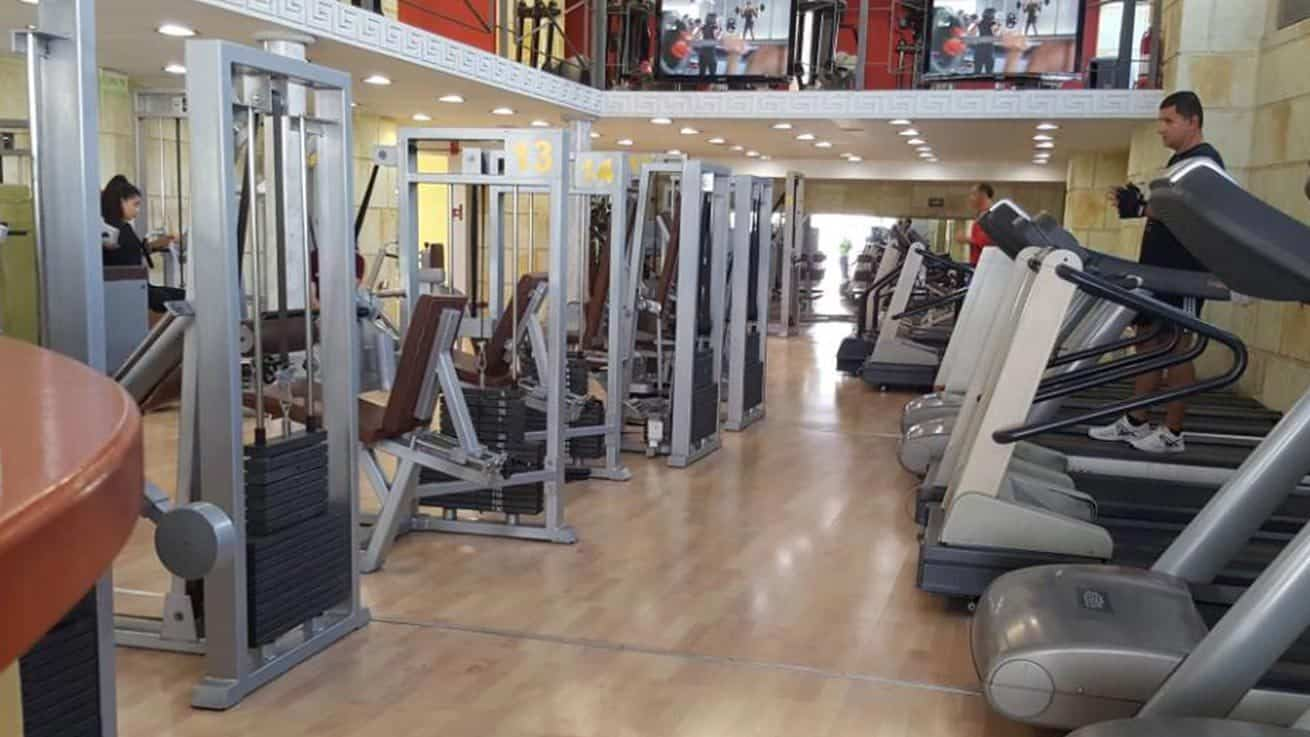 Ξενάγηση Fitness & Weights του γυμναστηρίου