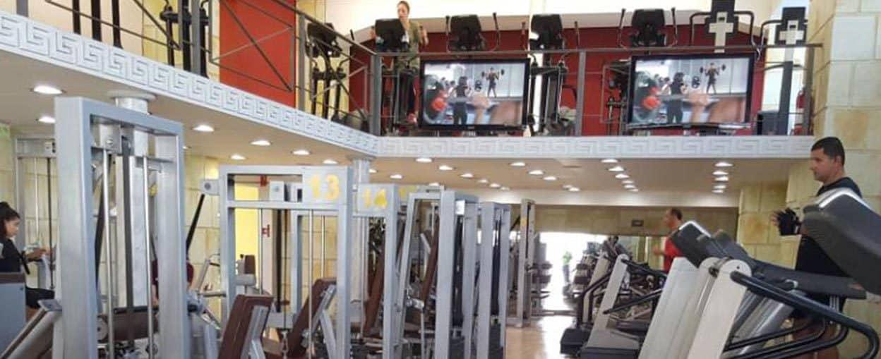 Οθόνες Προβολής στο Gym