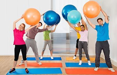 Pilates στο Γυμναστήριο